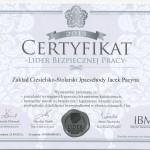 Scan certyfikat Badania Marki