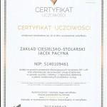 Scan certyfikat uczciwosci